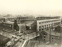Upon completion in 1922.  Digital Image. https://commons.wikimedia.org/wiki/File:Penn_-_Franklin_Field_-_1922.jpg. 12-7-2017. Web. 11-7-2011.