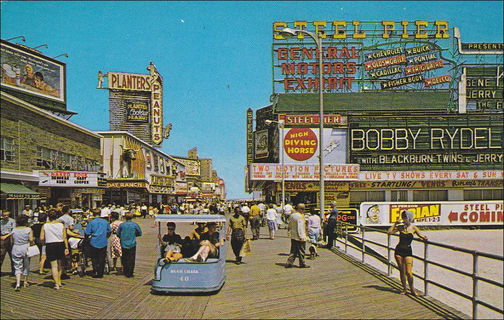 Here is a historic look at the boardwalk.