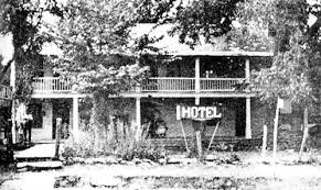 The Stagecoach Inn was first called the Shady Villa Hotel. The Shady Villa Hotel was constructed in 1861.