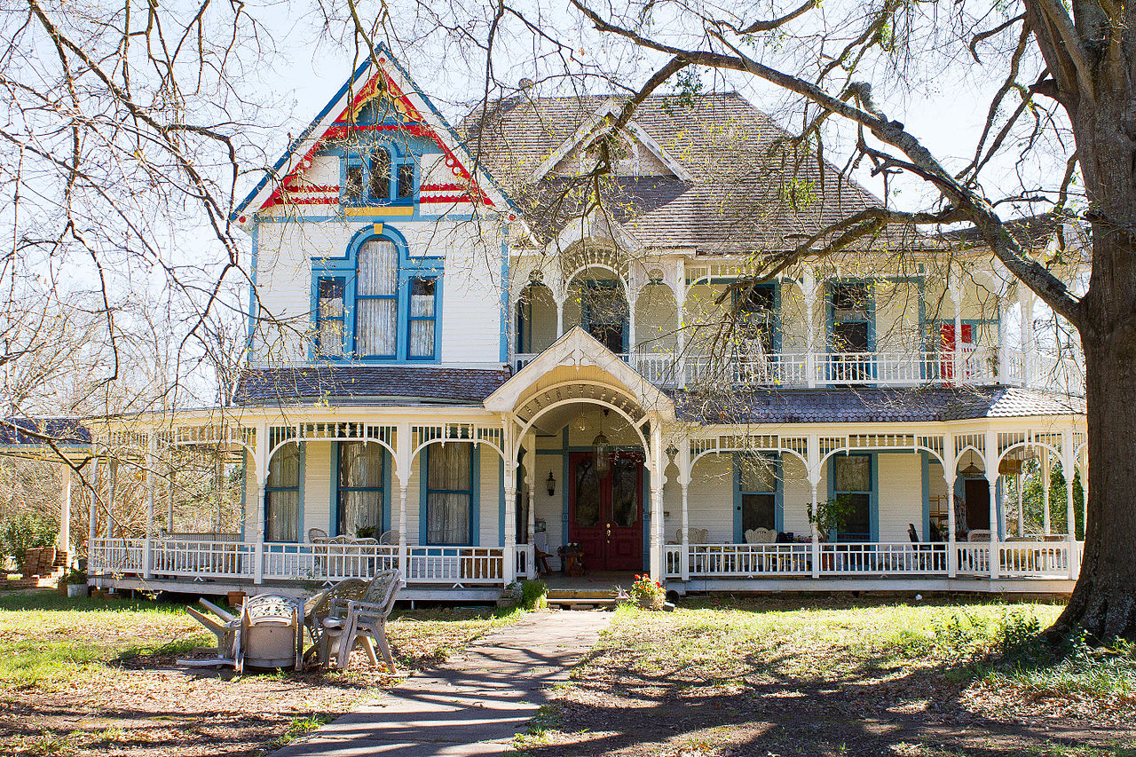 The Stephen William and Mary Price Blount House was built in 1897 and is one of the more impressive homes in Nacogdoches.