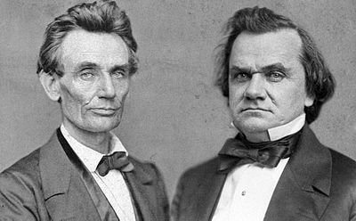 Abraham Lincoln and Frederick Douglas