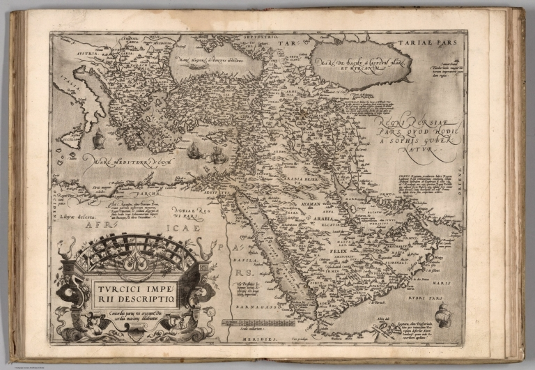 Ottoman Empire in 1570 (5 years after siege of Malta)