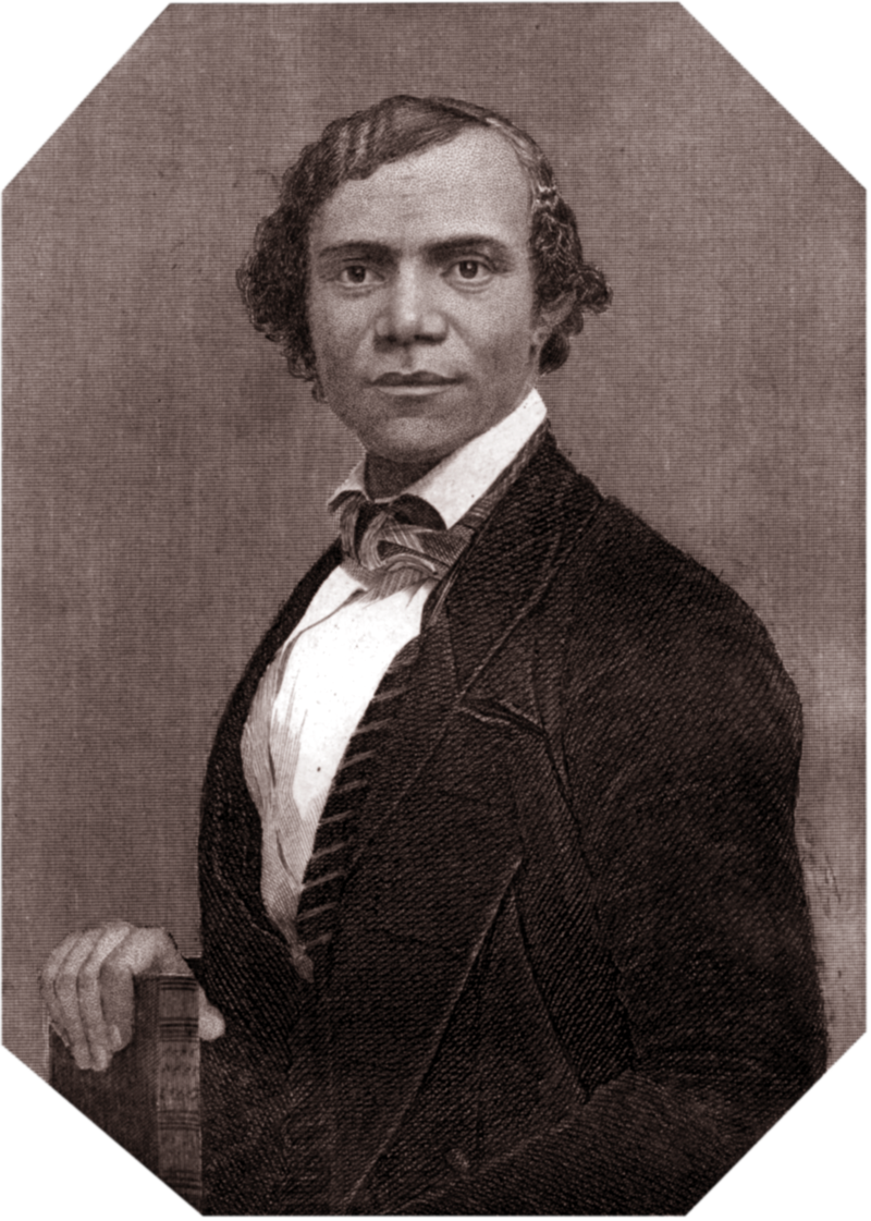 This is an image of Henry Bibb, which is significant, because there are no photos of Mary. It is another way Mary had not been remembered, so I reclaim this photo with a link to her Wikipedia article: https://en.wikipedia.org/wiki/Mary_E._Bibb.