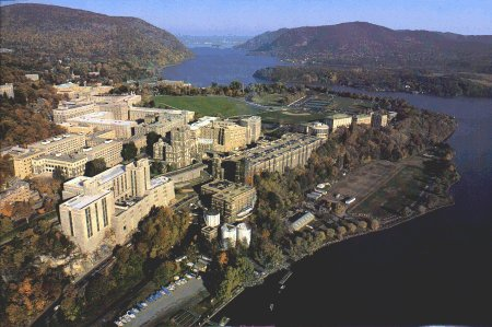 Aeriel view of West Point