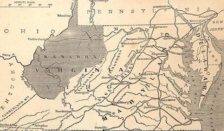Territory of Kanawha; Proposed name of state(1861)