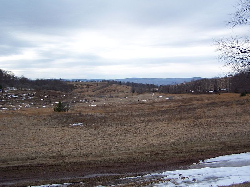 Allegheny Battlefield, present day.
