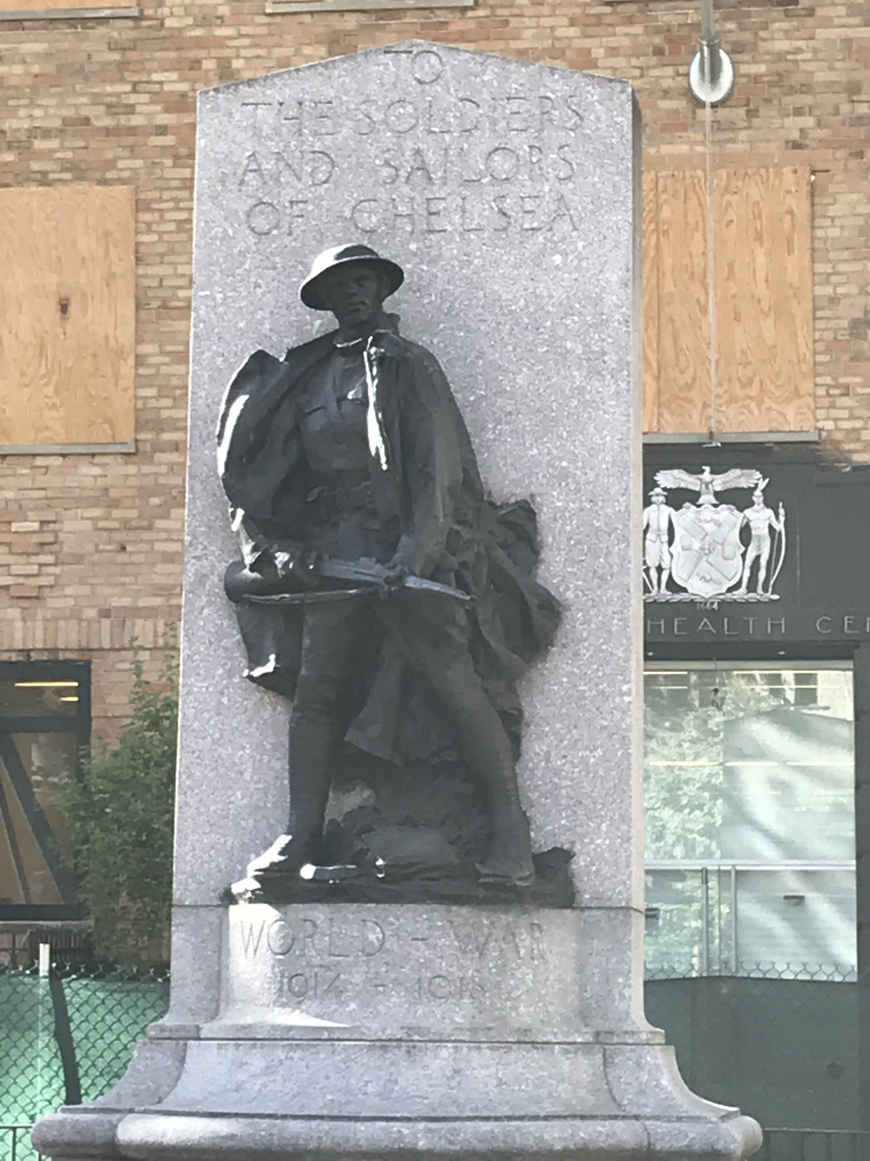 Photo of the statue