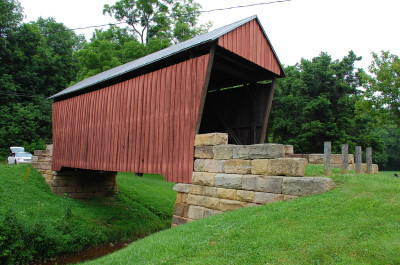 The Center Point Covered Bridge