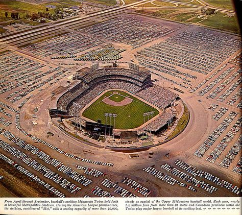 Ariel View of Metropolitan Stadium