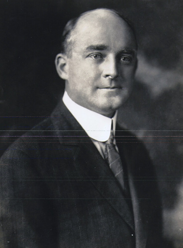 Photo of Robert R. Ellis, President of the Memphis Chamber of Commerce and the man who truly pushed for the creation and completion of the auditorium. It would later be named for him after his death.