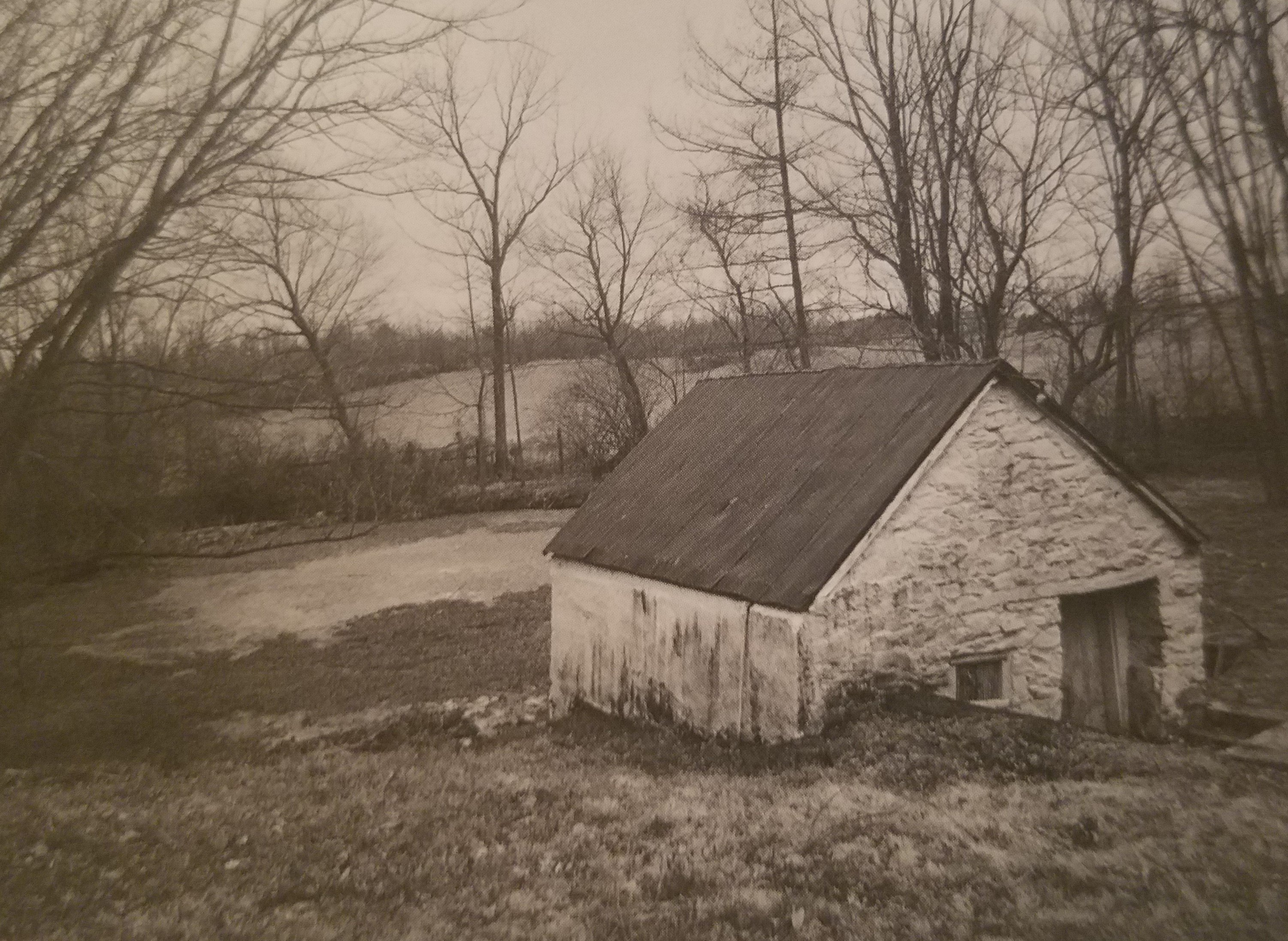 The spring house at Elmwood provided fresh water for the household.