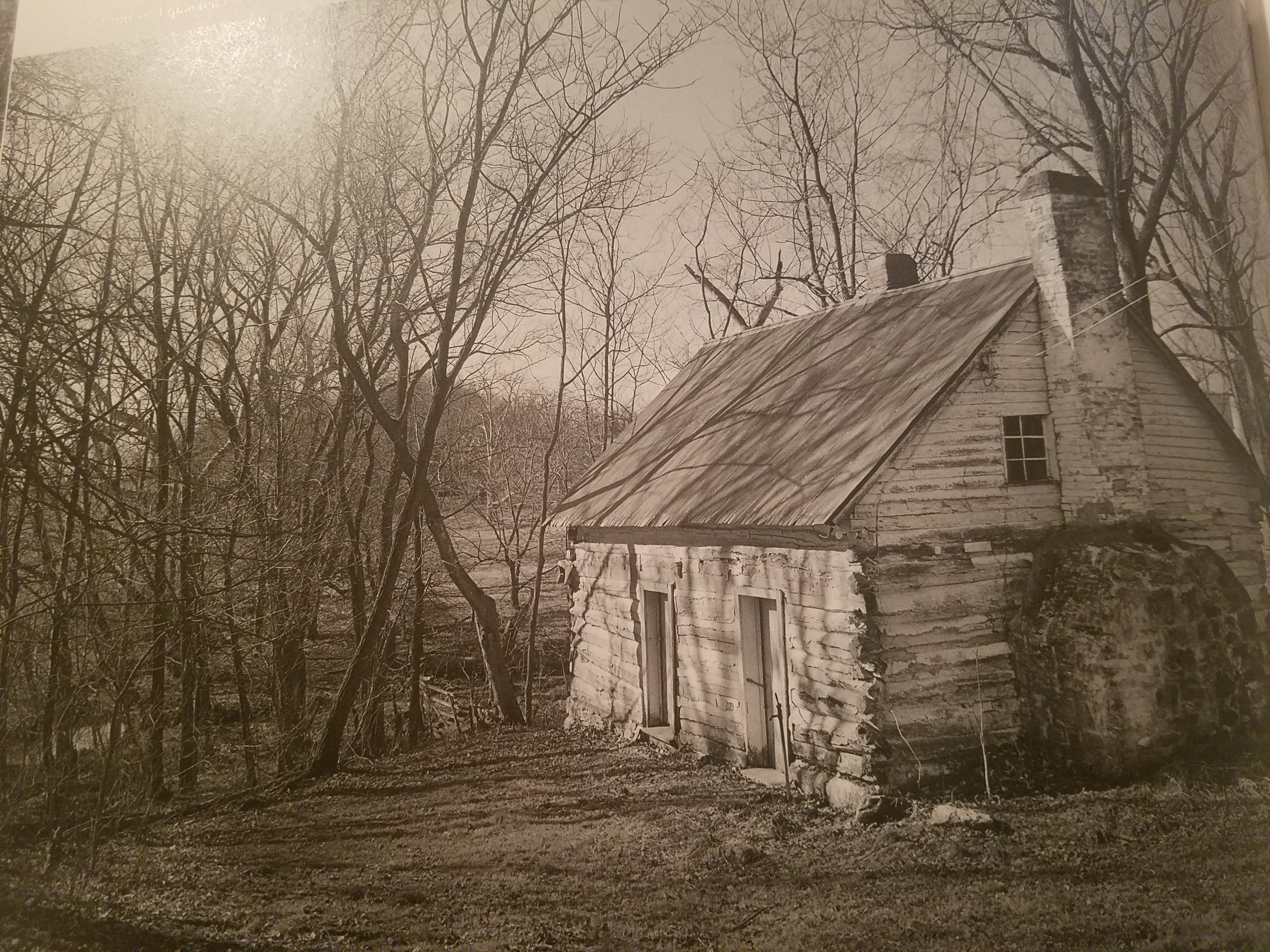 The slave quarters at Elmwood still stands on the land the slaves labored on.