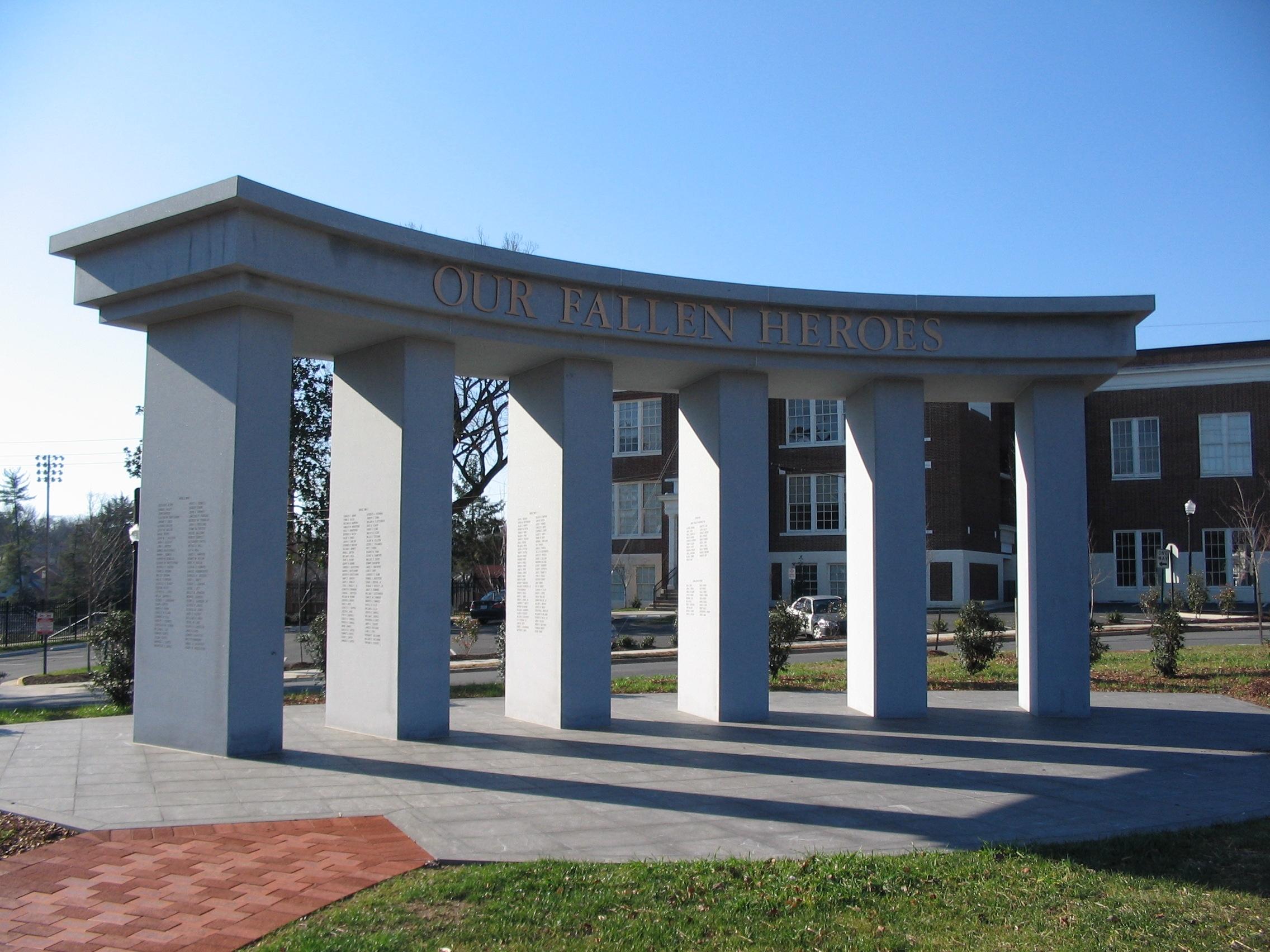 The Fredericksburg Area War Memorial