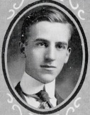 Thedford O. Davis - 1916 Huntington High School Yearbook