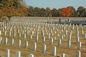 Graves at Mound City National Cemetery