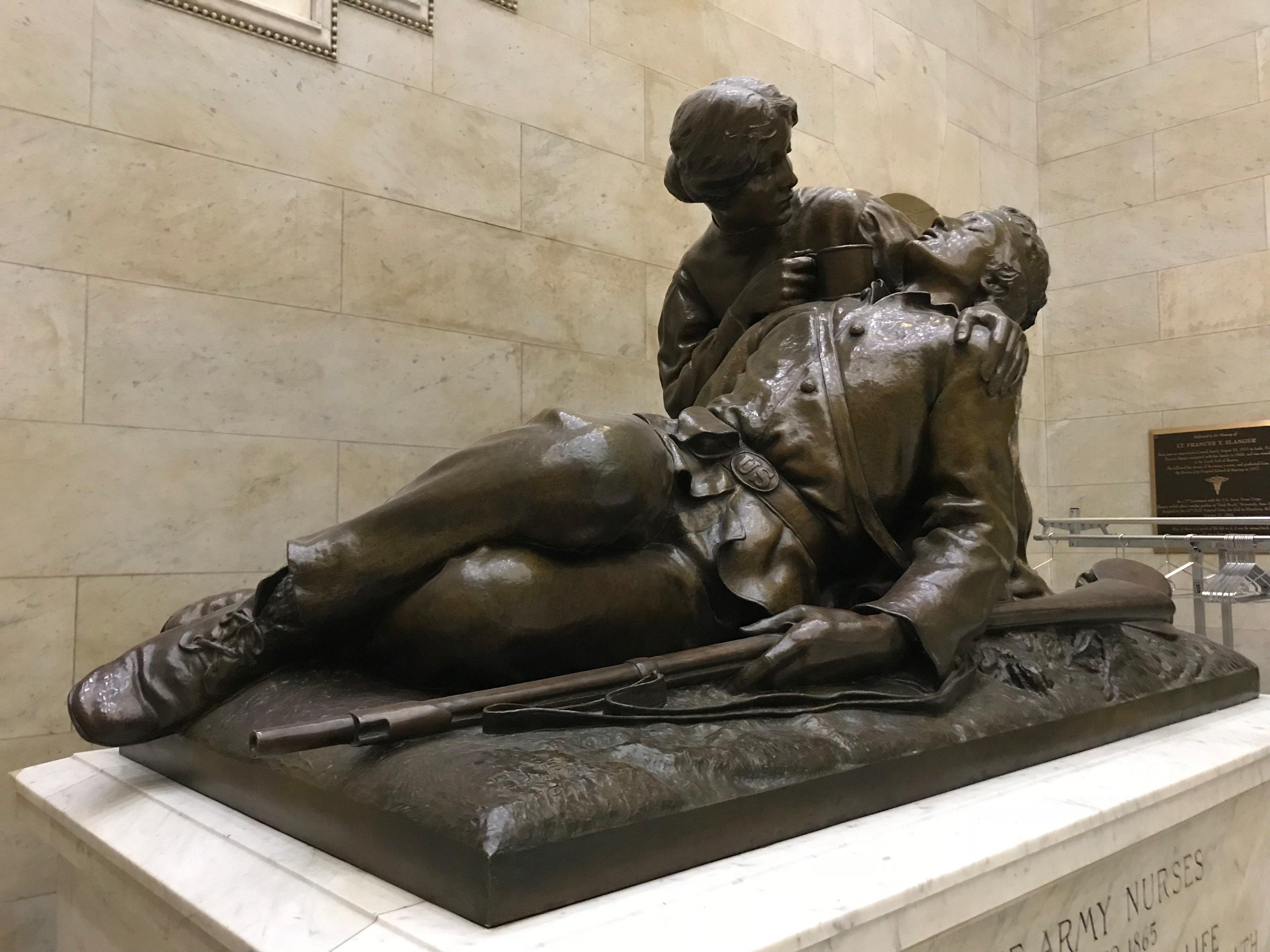 Civil War Army Nurses Memorial by Bela Lyon Pratt Photography by Edda Kirsch