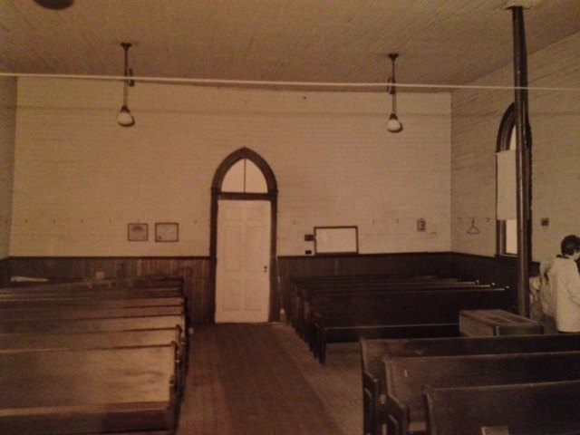 Pews from the Church