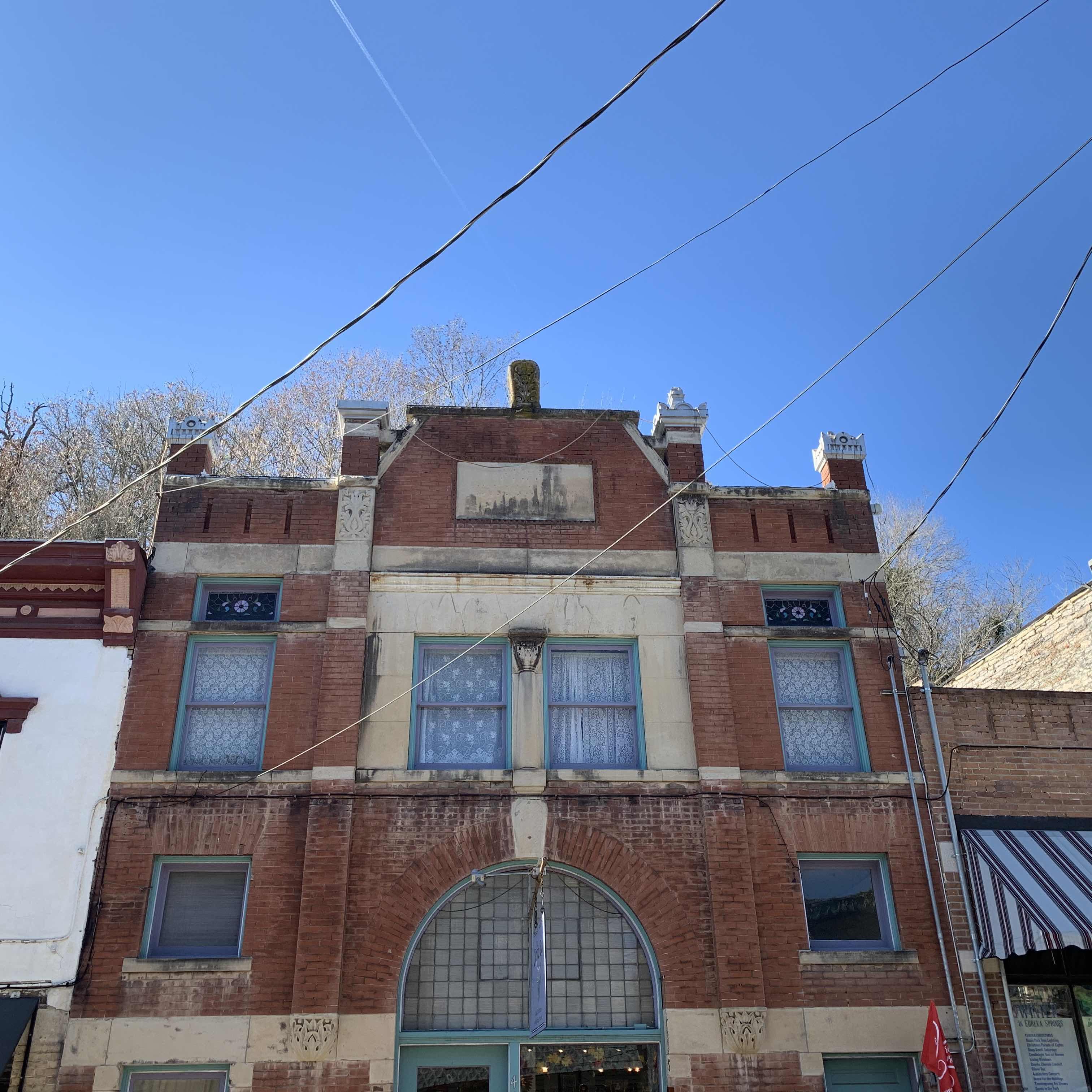 The Original Bank in Eureka Springs on Spring Street