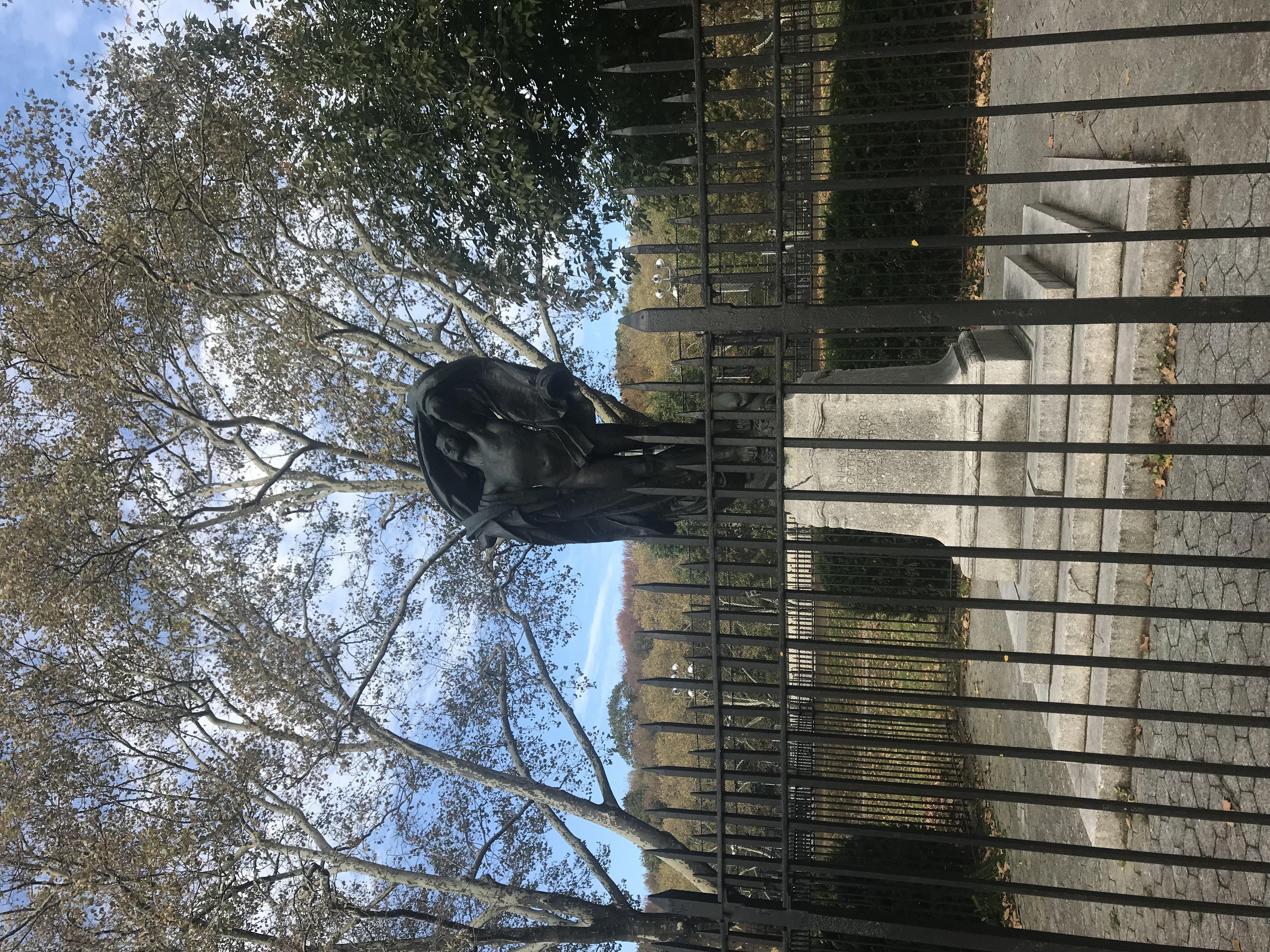 Full Scope of Statue