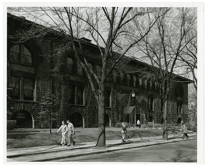 Nicholson Hall was home to the Minnesota Union and the Campus Club until they relocated in 1940