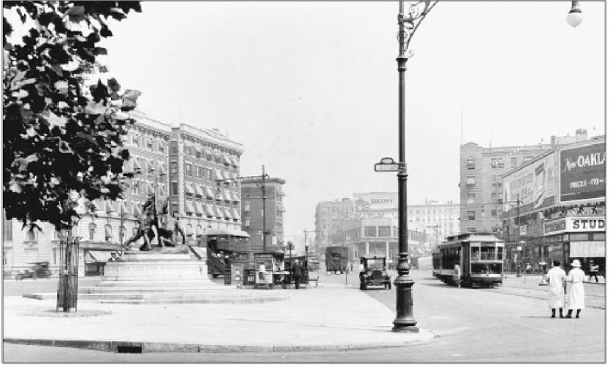 The Memorial in 1925