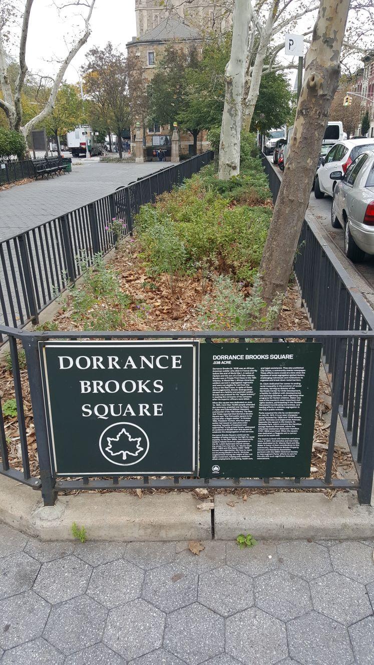 Parks plaque