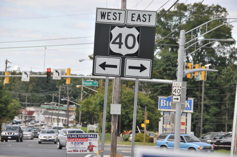 Present Day Route 40