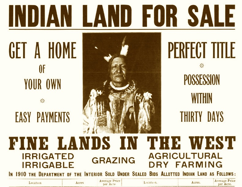 Indian land sales led to Robert G. Valentine, the Commissioner of Indian Affairs.resignation -- Graham was a big part of that land fraud investigation.
