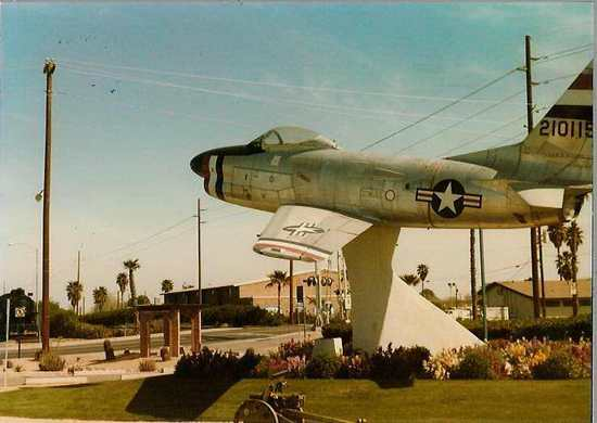 F-86d in Chandler, c. 1990