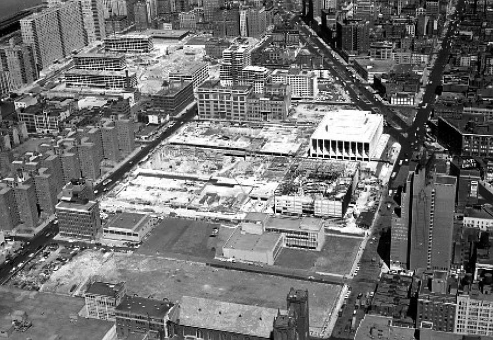 Lincoln Center Under Construction, 1963