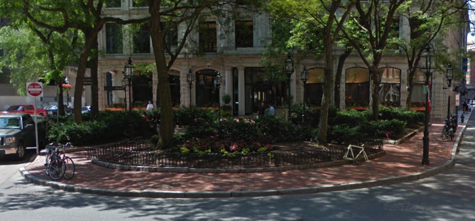 A view of Winthrop Square (from Google Maps)