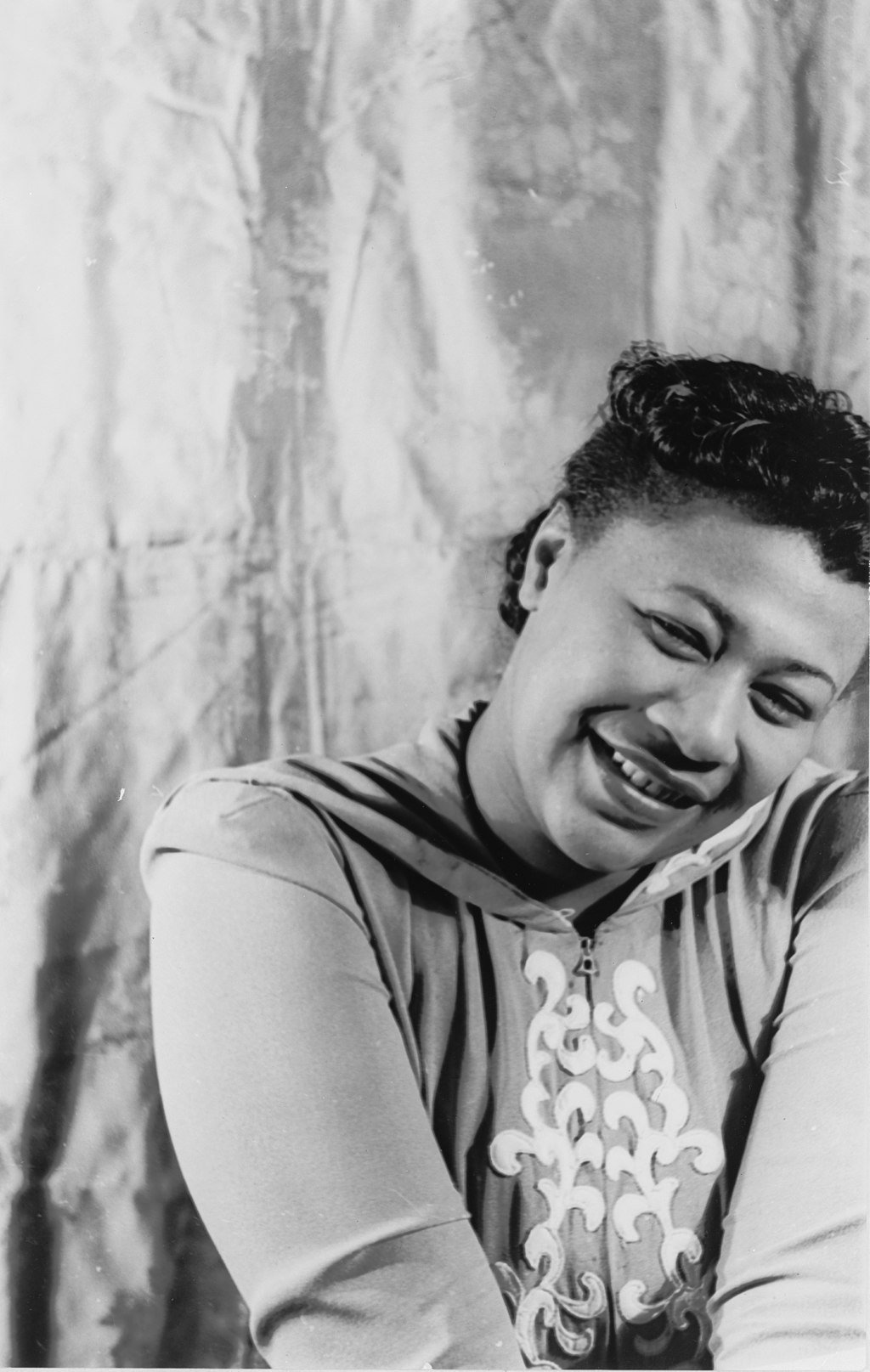 Ella Fitzgerald's music career took off in the late 1930s, selling over a million copies of her album at the age of 21. She is pictured here in 1940. Photo courtesy of the Library of Congress.