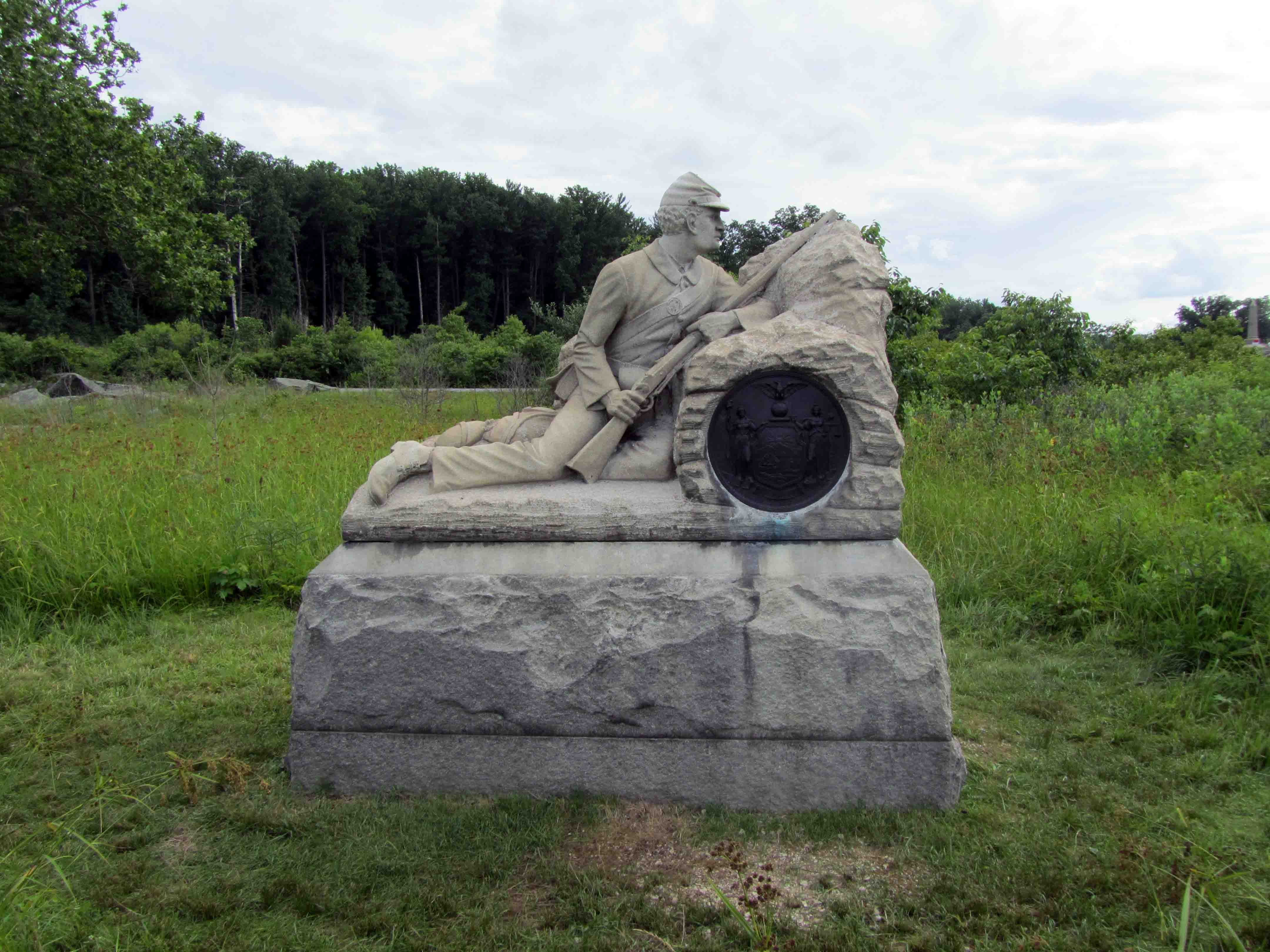 40th New York Infantry Monument (Picture 1)