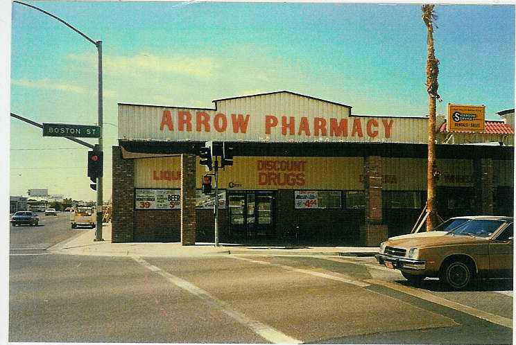 Arrow Pharmacy, c. 1980