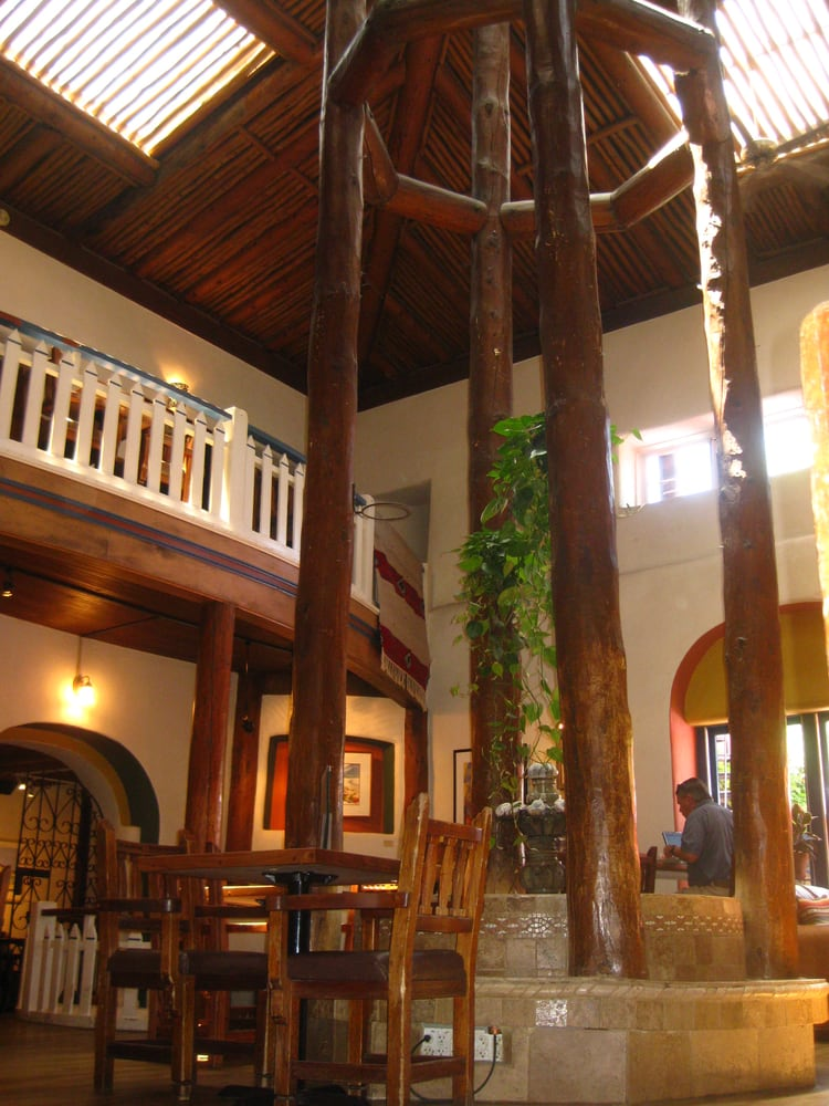 The Glorious Taos Inn Lobby