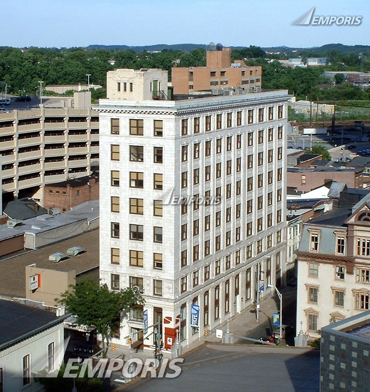 The Kunkel Building has been standing at the corner of Market and 3rd Streets since 1914.