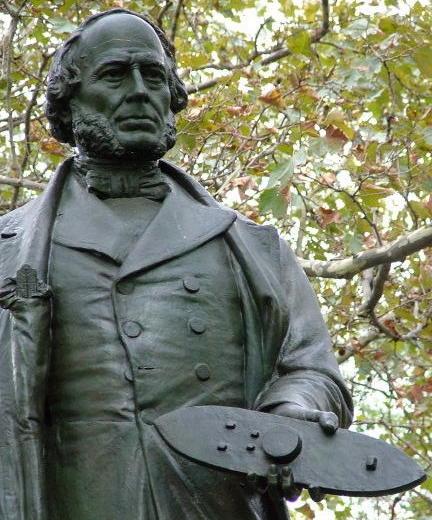 Statue of John Ericsson, inventor of the USS Monitor, in New York.