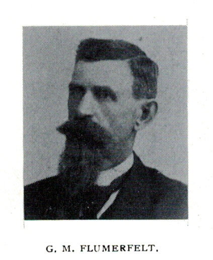 George M. Flumerfelt, ca. 1897
