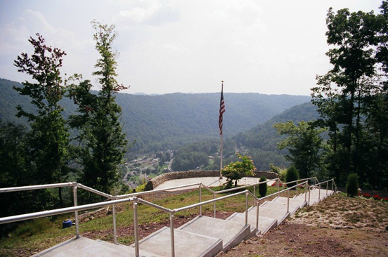 View from Cannon Hill, where town residents and Union soldiers repulsed an attack by Captain Octavius Weems. Photo courtesy of TourMorgantown.com.