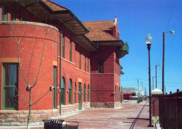 Dodge City Station was originally built in 1896 and is listed on the National Register of Historic Places.