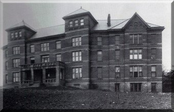 Mahan Hall: Built in 1906, originally known as Felix Hall. (Courtesy of the University of the Cumberlands)