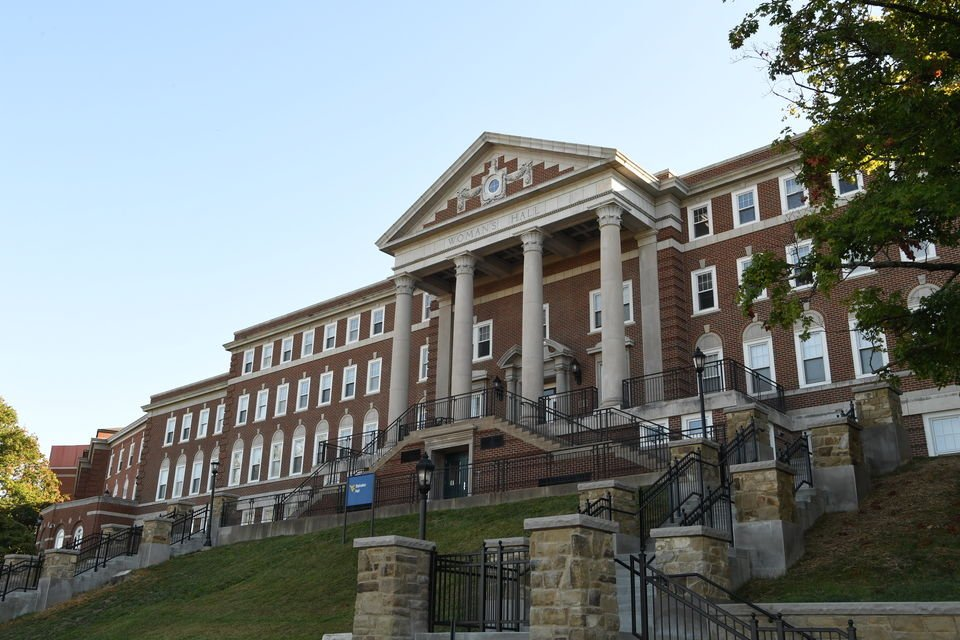 Stalnaker Hall in 2016. Photo courtesy of the West Virginia and Regional History Center.