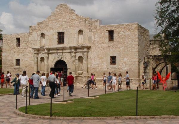 Spain established the Alamo mission in 1718. It would eventually become the site of one of the most famous battles in American history. Photo Credit:  