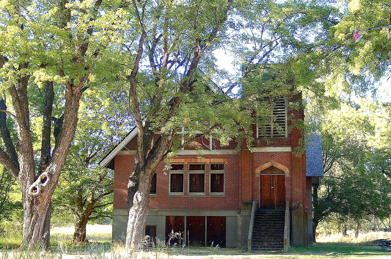 The abandoned United Brethren Church