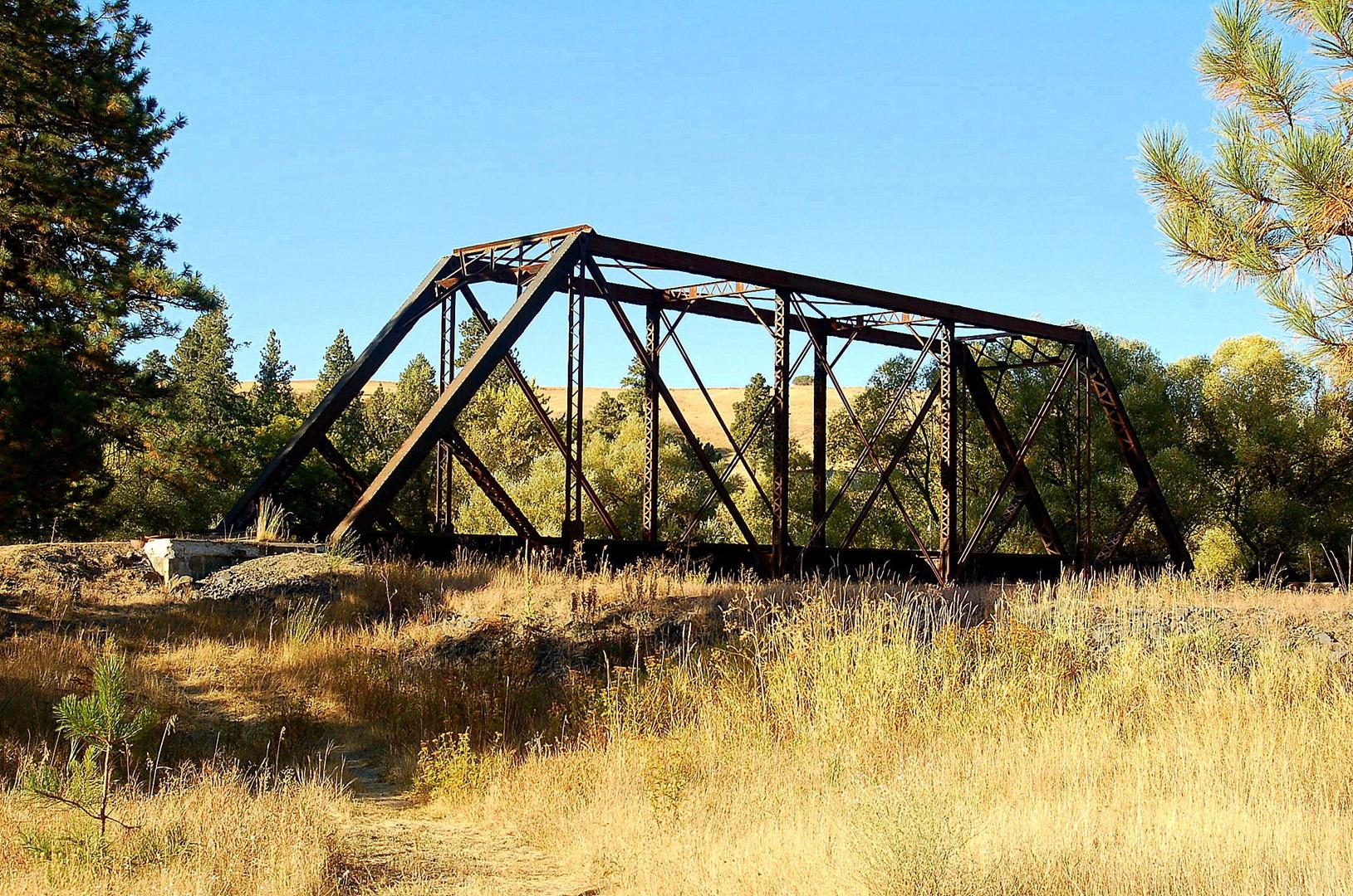Railroad trestle in Elberton