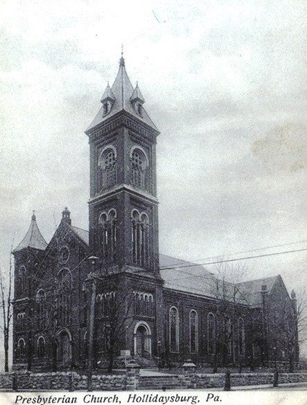 This is a front view of the church from 1870 when it was first built. Everyone was very excited for the new chapel after having services in the courthouse for so long.