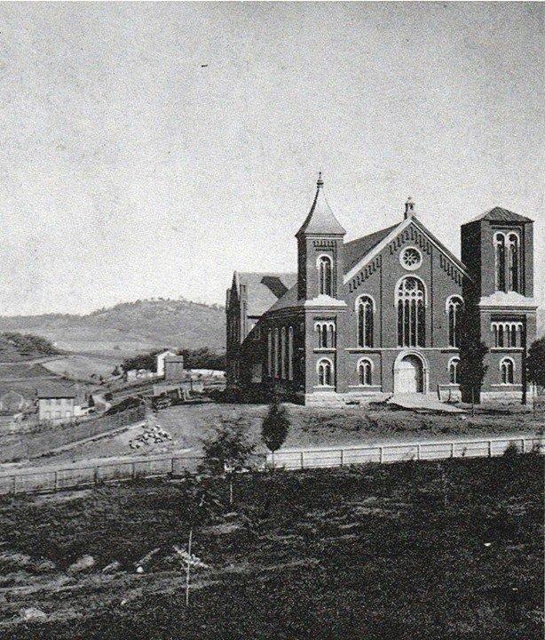The presbyterian church under construction