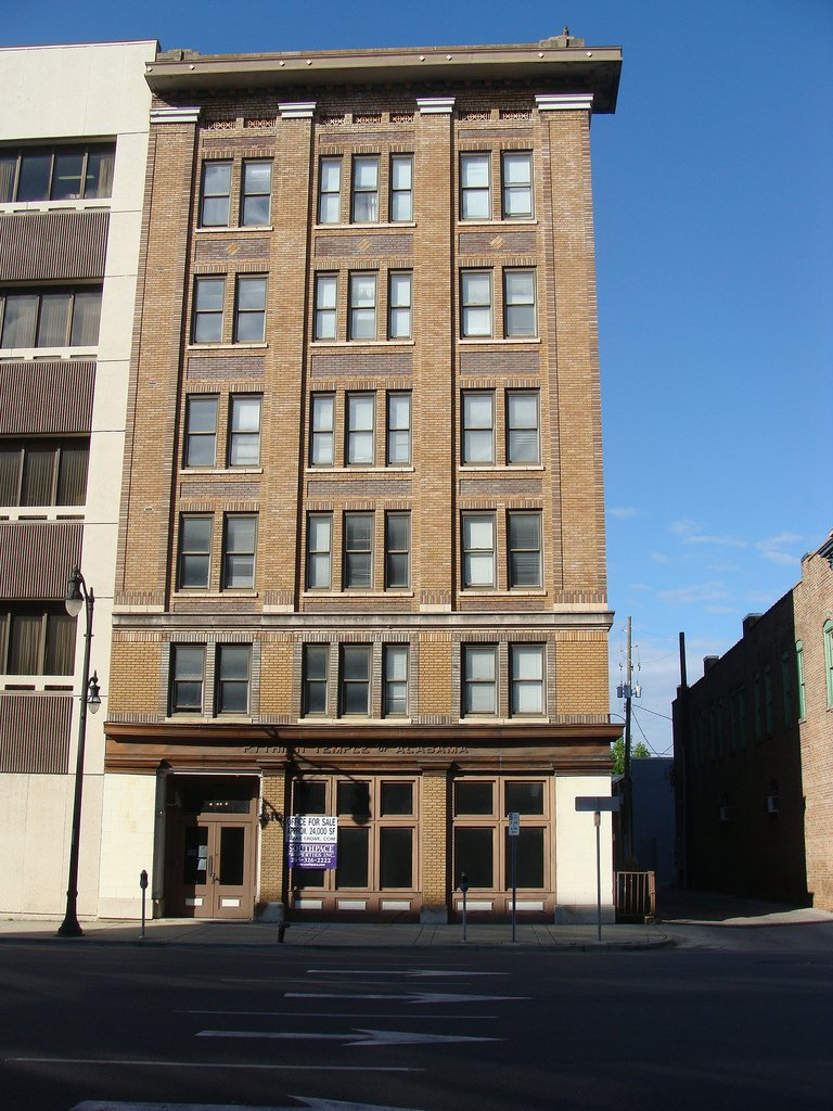 The Pythian Building was listed on the National Register of Historical Places in 1980.