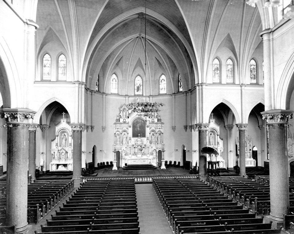 Interior view of Gesu Upper Church