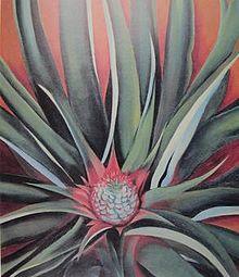 O'Keeffe's Pineapple Bud (1939)